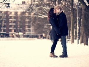 romance in winter
