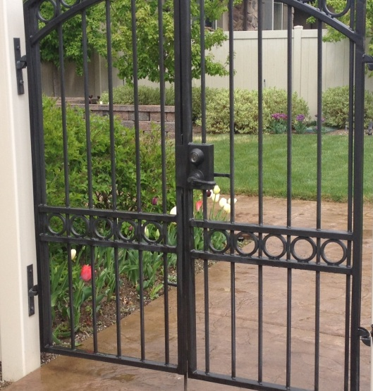 gate to my backyard